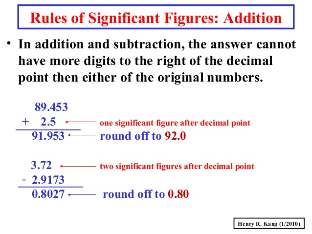 how do you add subtract multiply and divide significant figures